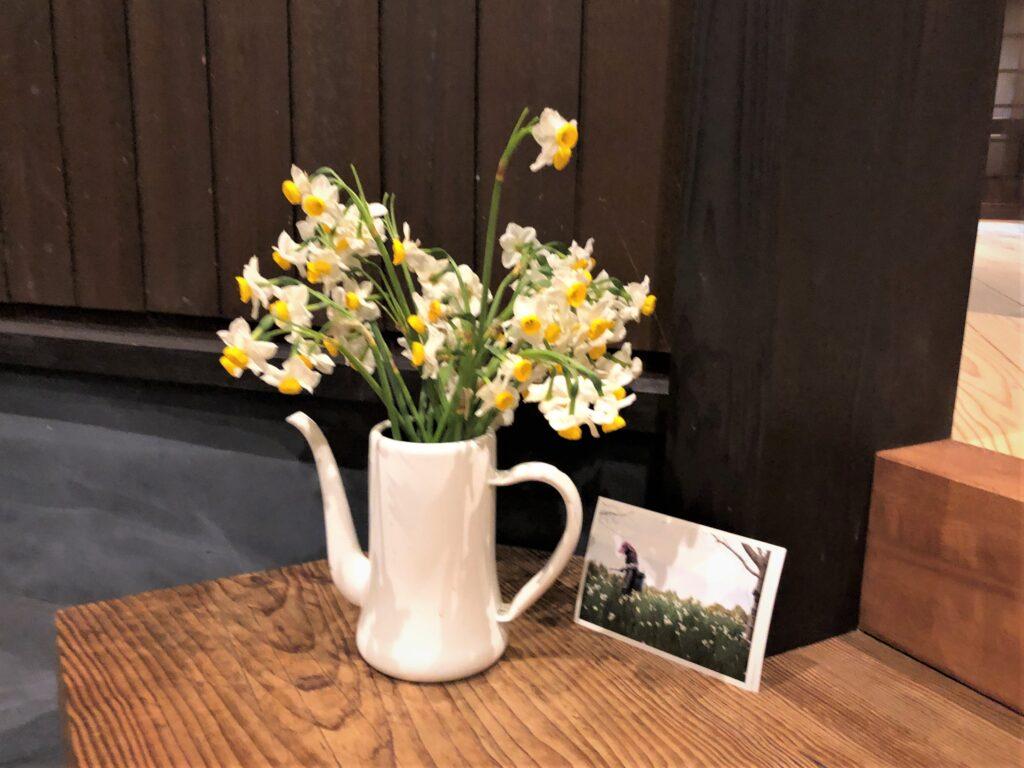 花瓶:水仙